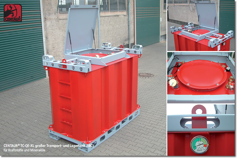 Transportabler IBC Tank