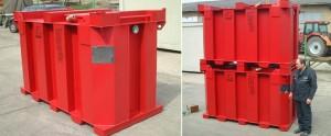 IBC Lagertank und Transporttank aus Stahl (1)