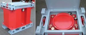 IBC Lagertank und Transporttank aus Stahl (2)